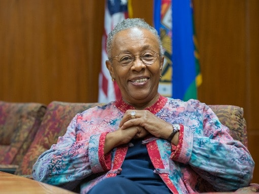 Genethia Hudley-Hayes, Education and Social Services Deputy