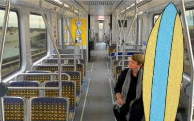 Take a ride on the brand new Expo Line Extension to Santa Monica!