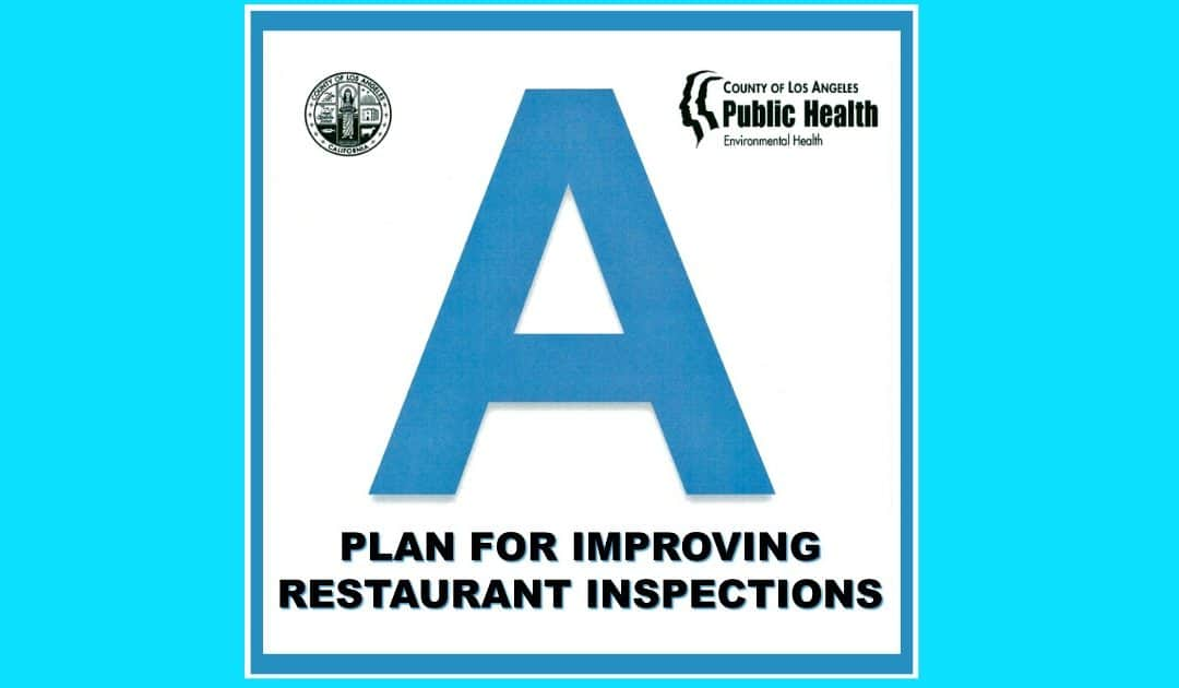 A Plan for Improving Restaurant Inspections