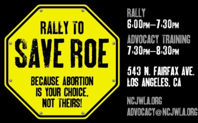 Rally to Save Roe: January 19th