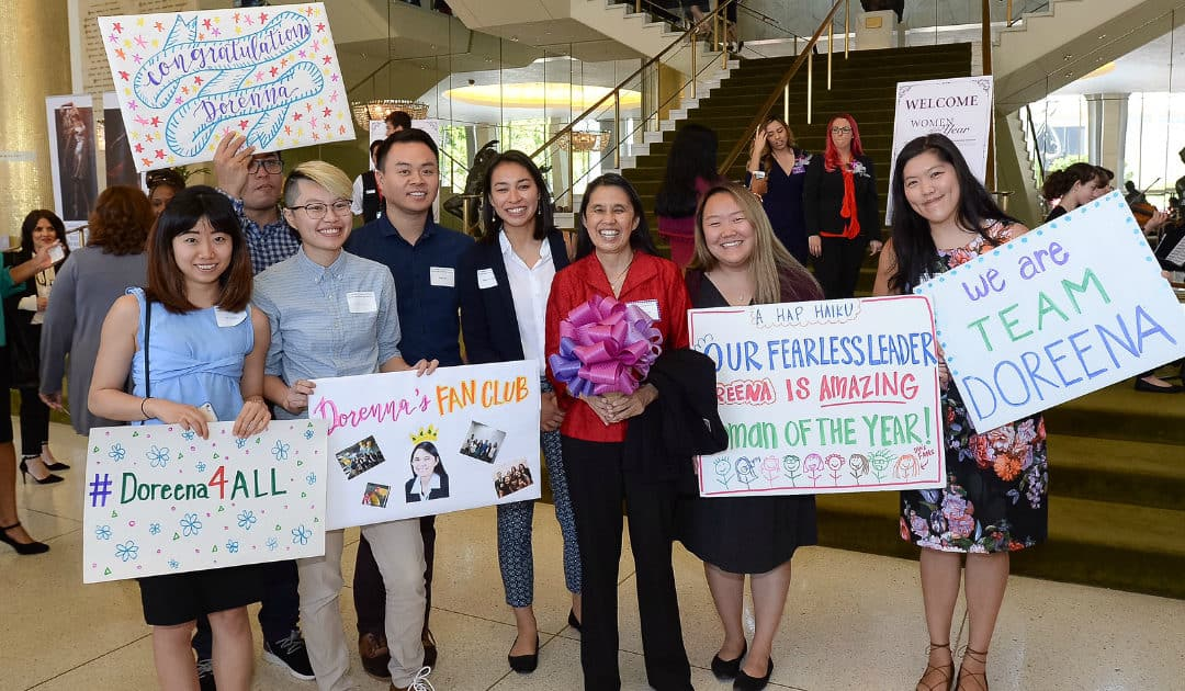 Kuehl Honors Doreena Wong as Third District's Woman of the Year