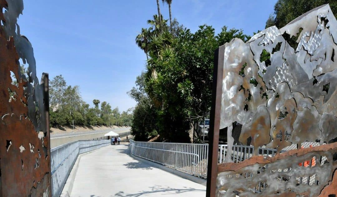 Zev Yaroslavsky LA River Greenway Trail Opens in San Fernando Valley