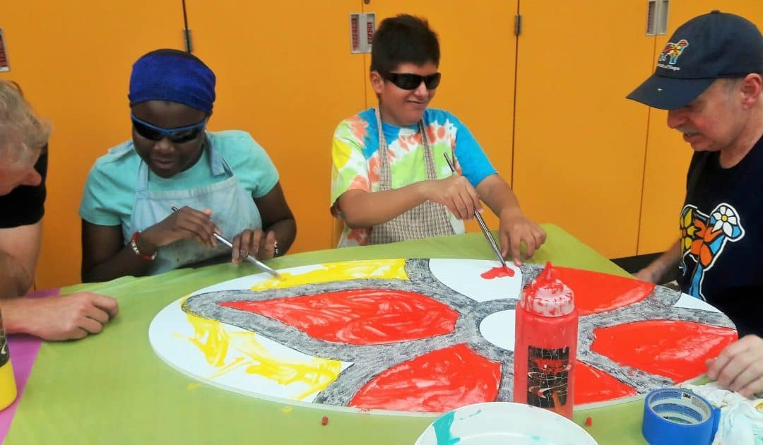 Paws of Hope — Young Artists Bring Public Art to Animal Care Centers