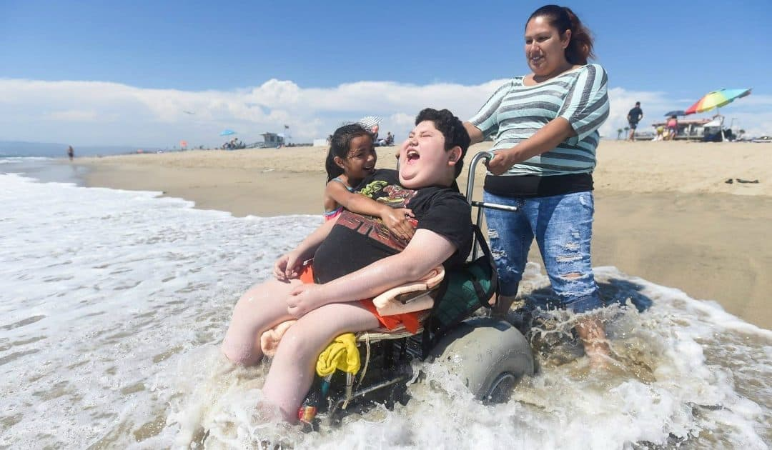 LA County Rolls Out Beach Wheelchairs
