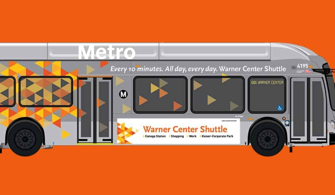 Exciting Improvements to Bus Service in Warner Center!