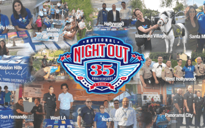 Team Kuehl joins in on National Night Out Festivities